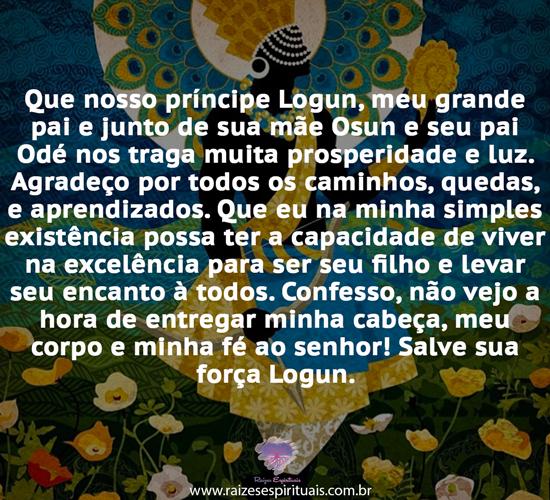 Prece a Logunede