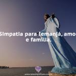 Simpatia Iemanjá, amor e família