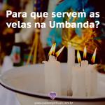 As velas na Umbanda