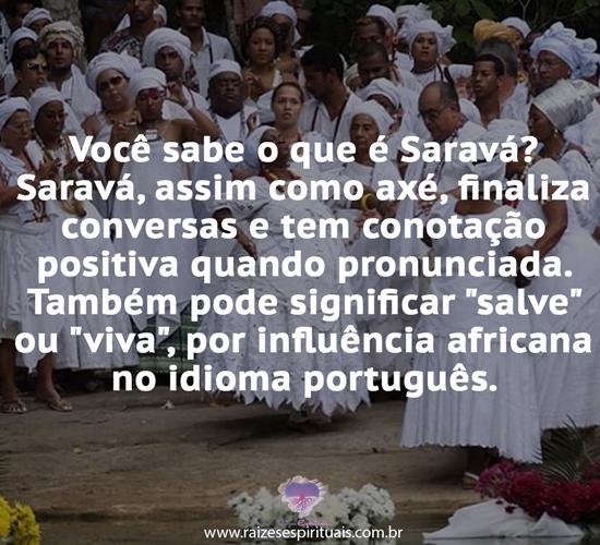 Saravá