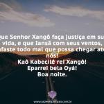 Que Xangô faça justiça