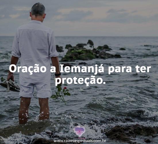 Oração a Iemanjá para ter proteção