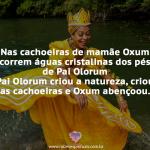 Nas cachoeiras de Mamãe Oxum