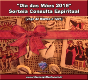 Participe do sorteio da Consulta Espiritual ao Jogo de Búzios e Tarô