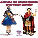 Orixá Logunedé das causas urgentes como Santo Expedito