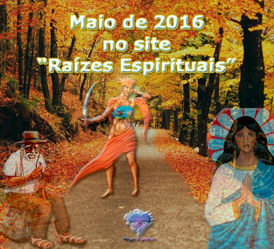 Participe de nossas comemorações do mês de maio de 2016