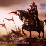 Ogum, nos dê força nas batalhas