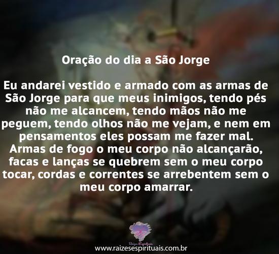 Oração de São Jorge Umbanda
