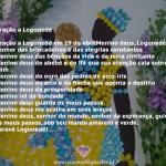 Oração a Logunedé em abril