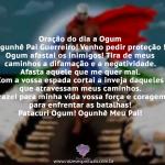 Oração do dia a Ogum