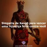 Simpatia de Xangô