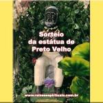 Sorteio da estátua de Preto Velho