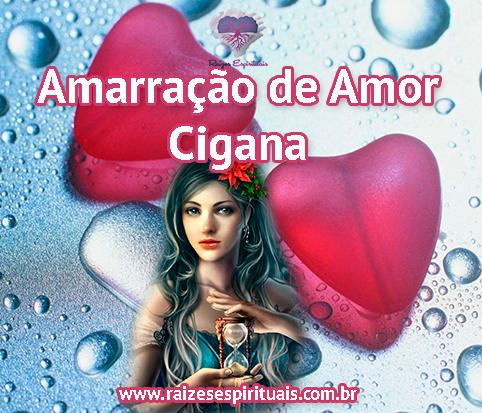 Entidades de Umbanda da Falange Cigana auxiliando na amarração de amor