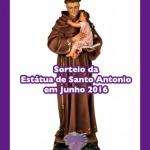 Sorteio da Estátua de Santo Antonio em Junho 2016