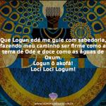 Logunedé é o Orixá originado do encanto