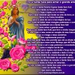 Oro a Santa Sara para achar o grande amor