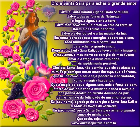 Oração a Santa Sara Kali em 25 de maio