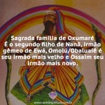 Sagrada família de Oxumaré