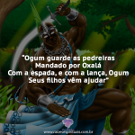 Ogum guarde as pedreiras