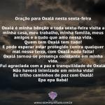 Oração para Oxalá nesta sexta-feira