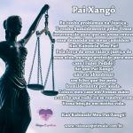 Oração a Pai Xangô na Umbanda para problemas na Justiça