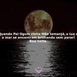 A lua e o mar