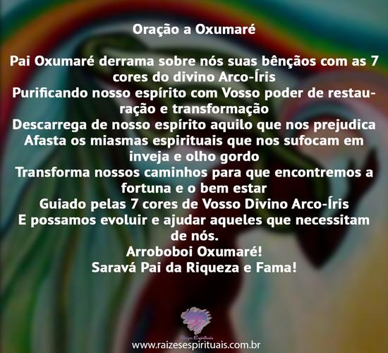 Oração a Oxumaré