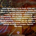 Salve Ogum guerreiro de Oxalá