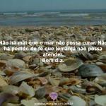 Não há mal que o mar não possa curar