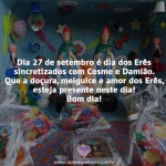 Dia 27 de setembro é dia dos Erês