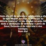 Dia de São Miguel Arcanjo