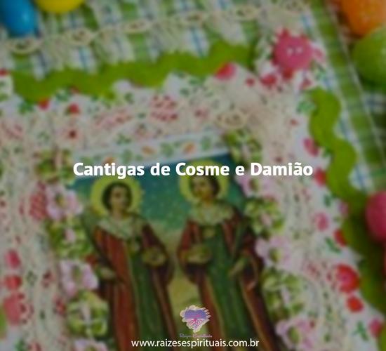 Cantigas Cosme e Damião