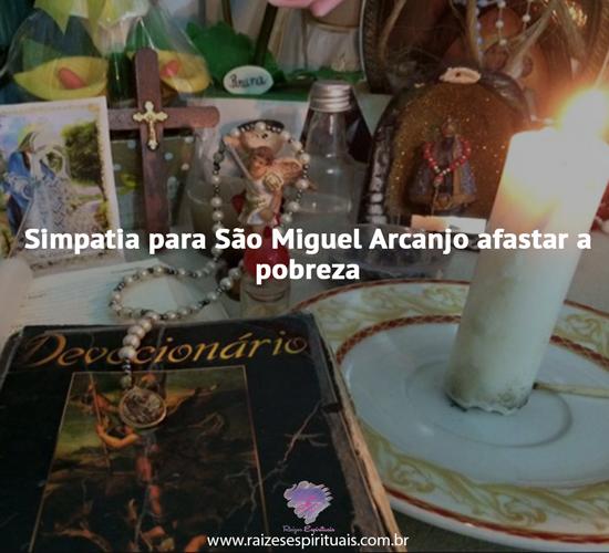 Simpatia para São Miguel
