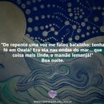 Tenha fé em Oxalá
