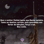 O Senhor Oxóssi