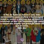 O dia de todos os santos