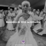 Novembro na Umbanda