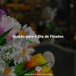 Oração para o Dia de Finados