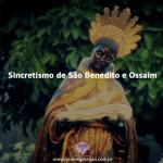 Sincretismo religioso São Benedito e Ossaim