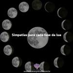 Simpatia para cada fase da lua