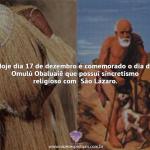 17 de dezembro dia de Omulú