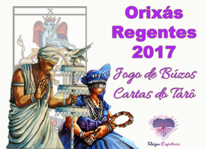 Orixás regentes de 2017