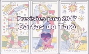 Previsões para 2017 nas Cartas do Tarô