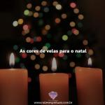 Velas para o natal