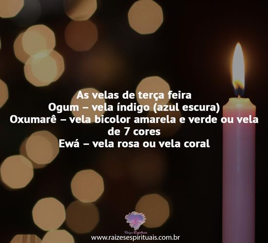 As velas de terça