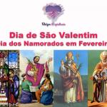 Dia de São Valentim – Dia dos Namorados em Fevereiro