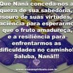 Salve a sabedoria de nossa avó Nanã