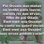 Salve as Folhas sagradas de Ossain