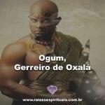 Vídeo homenagem a nosso pai Ogum-Guerreiro de Oxalá