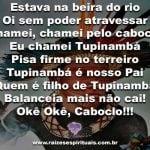 Salve a força do Caboclo Tupinambá!